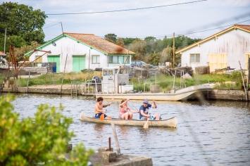 Balade en canoë sur le port © G.Cassiau