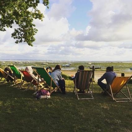 Pause détente à Arès