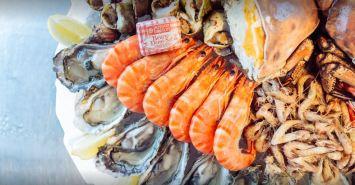 Plateau de fruits de mer © Oyat's Café