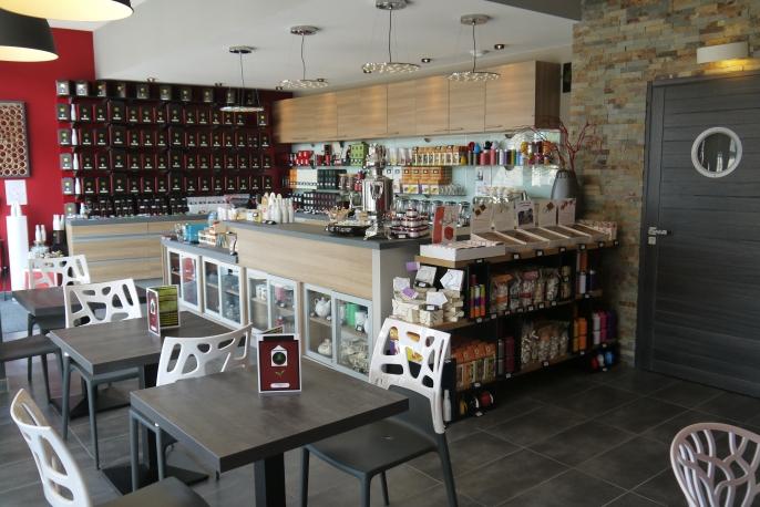 salon de thé et produits
