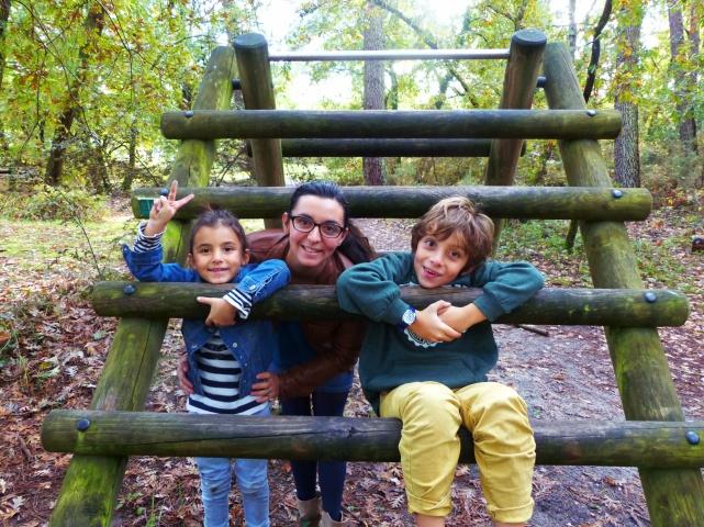 Photo de Famille sur le parcours de santé