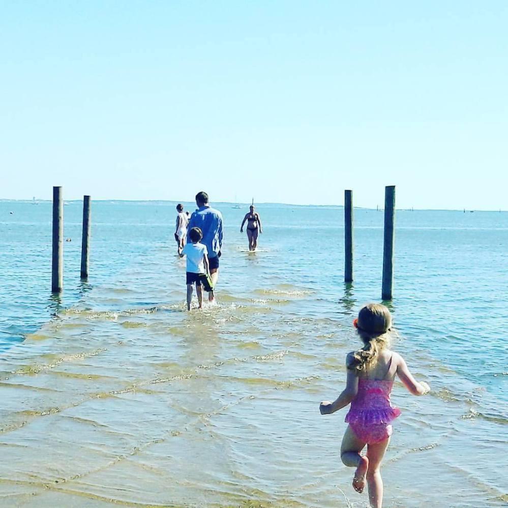 Un été sur la jetée d'Arès - Bassin d'Arcachon