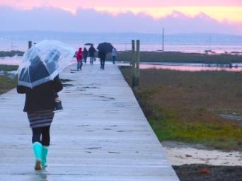 promenade hivernal sur la jetee