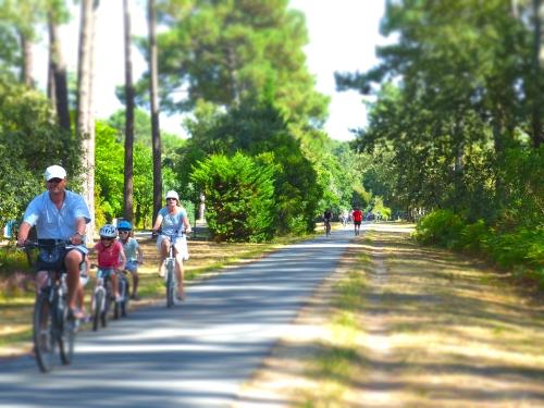 Le vélo autour d'Arès